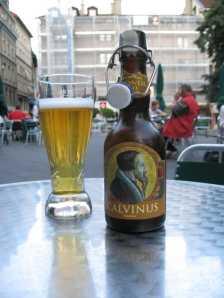 Calvinus-Bier - aber leider nicht in Augsburg